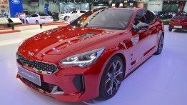 Kia Stinger GT showcased at the 2017 Dubai Motor Show