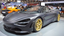 MSO Bespoke Mclaren 720S showcased at the 2017 Dubai Motor Show