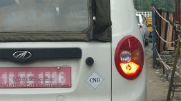 Mahindra Jeeto Minivan CNG variant spotted on test