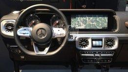 2018 Mercedes G-Class dashboard leaked