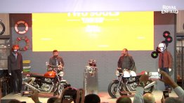 Royal Enfield Interceptor 650 Twin & Royal Enfield Continental GT 650 Twin debut at the 2017 EICMA show