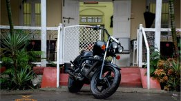 Royal Enfield Electra 350 'Charcoal' by Ornithopter Moto Design