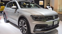 VW Tiguan R-Line showcased at the 2017 Dubai Motor Show