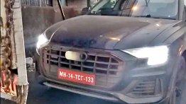 Audi Q8 spied testing in Mumbai [Video]