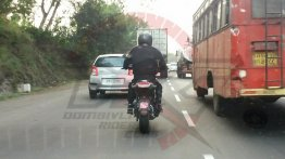 Benelli Leoncino spotted testing in Maharashtra
