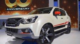 Isuzu MU-X 60th Anniversary edition at 2017 Thai Motor Expo - Live