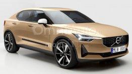 Next generation Volvo S60 rendered