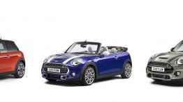 MINI 3-door, MINI 5-door and MINI Convertible get a facelift for MY2018