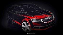 2018 Skoda Fabia (facelift) teased, to debut at Geneva Motor Show