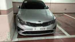 2019 Kia Optima (2018 Kia K5) spied completely undisguised