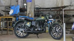 Royal Enfield Electra 350 '86 Mania' by Maratha Motorcycles