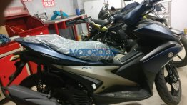Yamaha Aerox 155 reportedly spotted in India