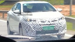 India-bound Toyota Vios (Toyota Yaris Sedan) spied in Brazil