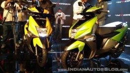 TVS Ntorq 125 vs Honda Grazia - Spec Comparison