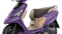 TVS Scooty Zest 110 Matte Purple colour variant introduced
