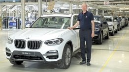 2018 BMW X3 assembly commences in India