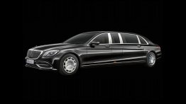 2018 Mercedes-Maybach Pullman (facelift) revealed