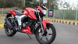 TVS Apache RTR 160 4V Launched In Colombia