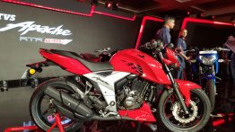 TVS Apache RTR 160 4V ABS launched in India, priced at INR 98,644