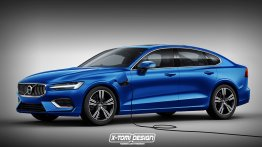 Next-gen 2018 Volvo S60 imagined - Rendering