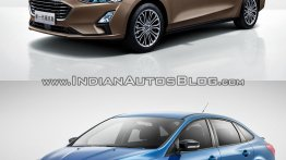 2018 Ford Focus Sedan vs 2014 Ford Focus Sedan - Old vs New
