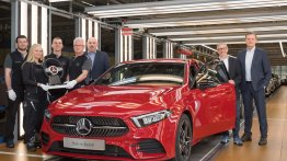 India-bound 2018 Mercedes A-Class enters production