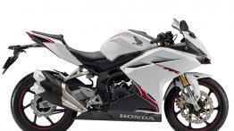 Honda CBR 250RR Pearl Glare White colour introduced in Japan