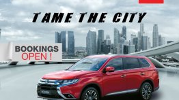 New Mitsubishi Outlander launched in India, priced at INR 31.54 lakh
