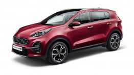 2018 Kia Sportage (facelift) with diesel mild-hybrid powertrain officially revealed