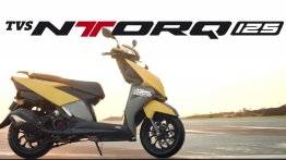 TVS Ntorq 125 enters top 10 list of scooters in May 2018