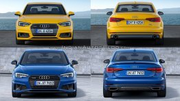 2016 Audi A4 vs. 2019 Audi A4 - Old vs. New