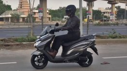 Suzuki Burgman Street 125 spotted during TVC shoot - Video
