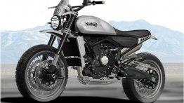 Norton Atlas 650 scrambler teased ahead of the premiere at Motorcycle Live 2018?