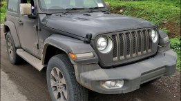 2-door 2019 Jeep Wrangler JL on test by ARAI spied