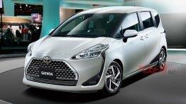 2018 Toyota Sienta (facelift) - Rendering