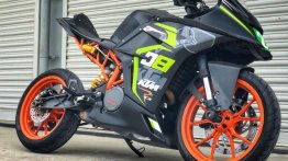 KTM RC 390 with RCX2 race-kit by Autologue Design
