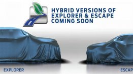 Next-gen Ford Explorer & Ford Escape teased, not coming to India