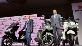 Suzuki Burgman Street 150 may debut at Auto Expo 2020 - Report