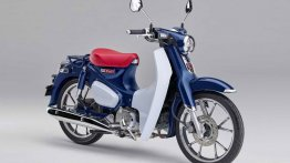 2019 Honda Super Cub C125 with new features unveiled