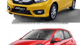 2018 Honda Brio vs. 2016 Honda Brio - Old vs. New