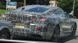 Reader spots the 2019 BMW 8 Series Coupe in New Jersey