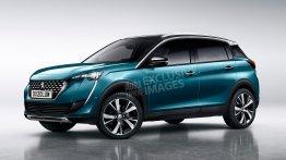 Next-gen 2019 Peugeot 2008 (Hyundai Creta rival) - Rendering