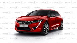 Next-gen Peugeot 208 (Maruti Swift rival) - Rendering