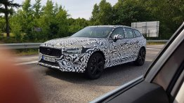 2019 Volvo V60 Cross Country spied testing in Sweden