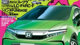 Next-gen Honda Fit/Honda Jazz Cross Style - Rendering