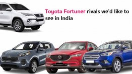6 Toyota Fortuner rivals we'd like to see in India - Kia Sportage to Ford Kuga