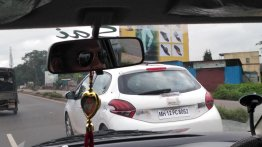 PSA testing out components using the Peugeot 208 in India