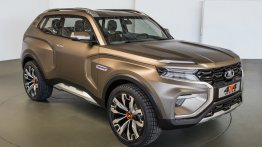 Next-gen Lada 4x4 (Lada Niva) previewed by Lada 4x4 Vision concept