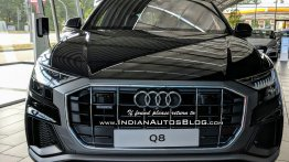 IAB reader checks out the India-bound Audi Q8 in Germany