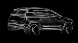 India-bound SAIC's Baojun brand teases a new compact SUV in China